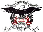Lake Station Eagle Logo