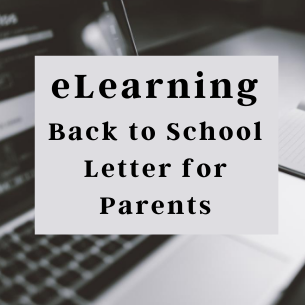 eLearning Back to School Letter
